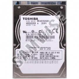 Poze Hard disk 60GB Laptop, Notebook, Toshiba MK6032GSX, SATA, Buffer 8MB