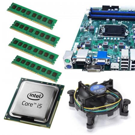 Kit Placa de baza Acer Q67H2-AM, Intel Core i5 2500 3.3GHz, 8GB DDR3, Cooler inclus