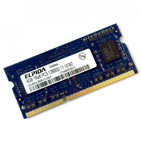 Memorie Laptop Elpida 4GB DDR3, 1600MHz, 1Rx8, PC3-12800