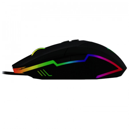 Mouse Gaming T-DAGGER Lieutenant, Optic, USB, 8000 dpi, 8 butoane, RGB LED