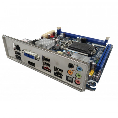 Placa de baza Foxconn DH57JG, LGA1156, 2x DDR3, 4x SATA II, PCI-Express 2.0, mini ITX