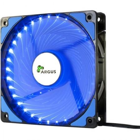 Ventilator Inter-Tech Argus L-12025 Blue LED Fan
