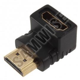 Adaptor DeTech HDMI - HDMI, Female - Male, Negru