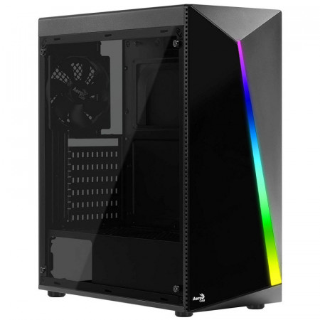 Carcasa Gaming Aerocool Shard RGB, Middle Tower, USB 3.0