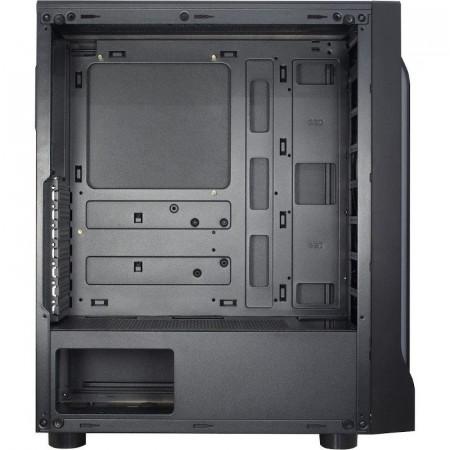 Carcasa Inter-Tech A-3411 Creek, MiddleTower, USB 3.0, Panou transparent