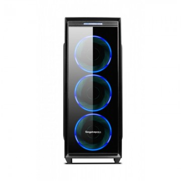 Carcasa Segotep Halo 6 Plus, 4x Vent. 120mm Blue LED, USB 3.0