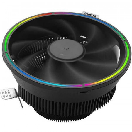 Cooler CPU Segotep Flashy Castle 120+, Iluminare RGB