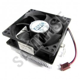 Cooler procesor AM2/AM3 AVC, Ventilator 80mm, mufa 3 pini
