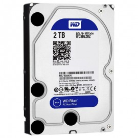 Hard disk Western Digital Blue, 2TB, SATA III 600, 64MB Buffer, WD20EZRZ
