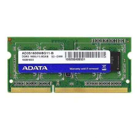 Memorie 8GB DDR3 1600MHz Adata SODIMM