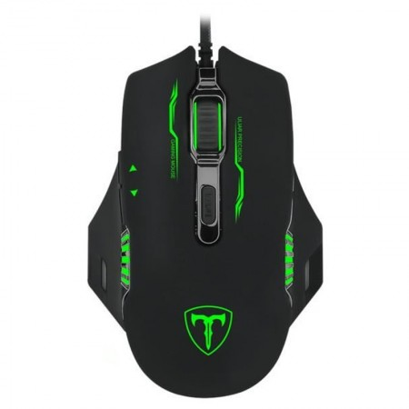 Mouse Gaming T-DAGGER Recruit, Optic, USB, 3200 dpi, 6 butoane, Iluminare LED