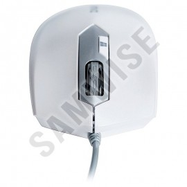 Poze Mouse Zalman ZM-M130C White, 2400 dpi, Wired, USB