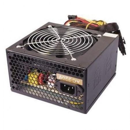 Sursa Segotep 500W ATX-500WH, 3x SATA, 3x Molex, 6-pin, PCI-Express, PFC, Desigilat