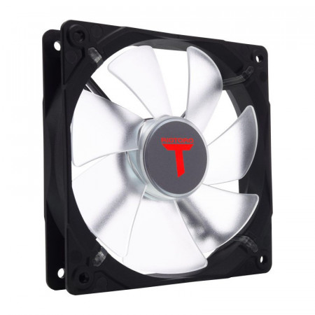 Ventilator Riotoro Performance Edition 120mm, Iluminare LED rosie