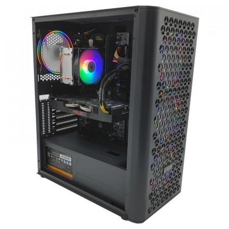 Calculator Gaming I-Fury, Intel i3 6100T 3.2GHz, GA-H110-D3A, 8GB DDR4, SSD 120GB, 500GB, ASUS RX 570 Expedition 4GB GDDR5 256-bit, 500W