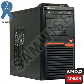 Poze Calculator incomplet GATEWAY DT55, cu procesor AMD Athlon II X2 260 3.2GHz, sursa Delta 300W, DVD-RW