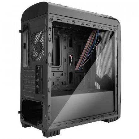 Carcasa Gaming Segotep Polar Light V2 Black, MiniTower, USB 3.0