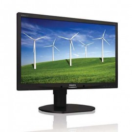 "Monitor LED 22"" Grad A, Philips Widescreen 220B4L, 5ms, 1680x1050, DVI, VGA, 2x USB, Cabluri incluse"