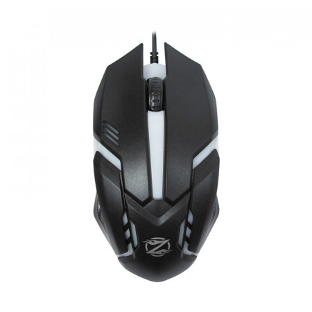 Mouse ZornWee Revival GM-02, Optic, USB, 1000 DPI, 6 butoane, Negru