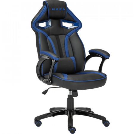 Scaun Gaming Inaza Cobra negru-albastru, SH