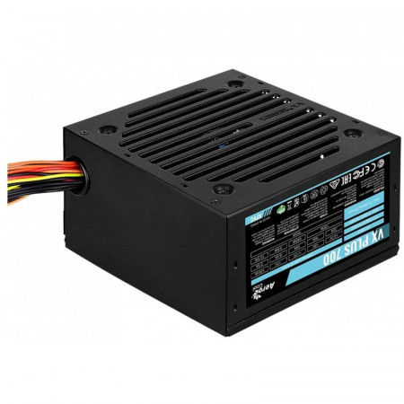Sursa 700W Aerocool VX PLUS 700, 4x SATA, 3x Molex, 2x 6+2 pin PCI-E, 120mm, PFC activ