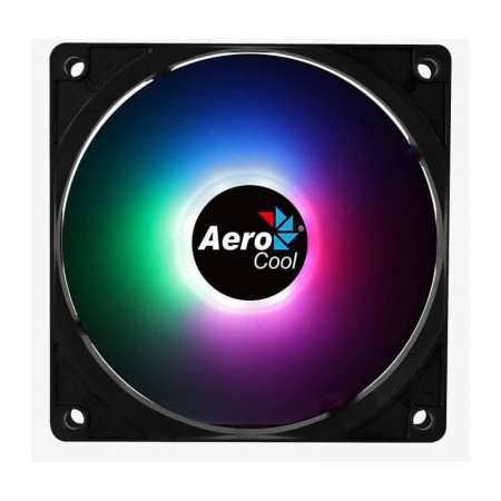 Ventilator Aerocool Frost 12 RGB, 120mm, Iluminare LED RGB