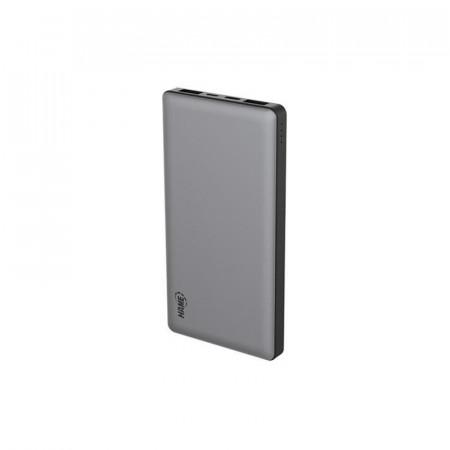 Baterie externa Hame P50C, 10000 mAh, 2x USB, 1x USB-C, 1x microUSB, cu tehnologia Quick Charge 3.0, Black - Grey