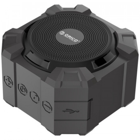 Boxa portabila Orico SoundPlus A1 Black, Bluetooth, Baterie reincarcabila