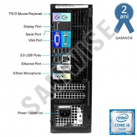 Poze Calculator Dell 790 SFF, Intel Core i5 2400 3.1GHz (up to 3.4GHz), 4GB DDR3, 250GB, DVD-ROM