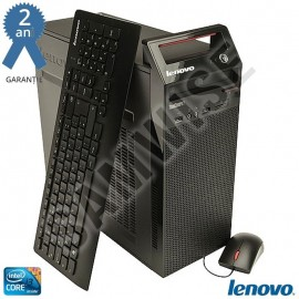 Poze Calculator LENOVO HASWELL, Intel Core i3 4130 3.4GHz, 8GB DDR3, HDD 500GB, DVD-RW, Tastatura + Mouse USB