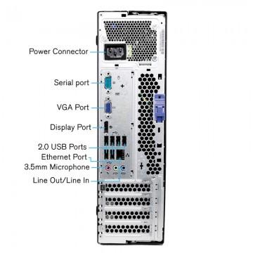 Calculator Lenovo M78 SFF, AMD QuadCore A4-5300 3.4GHz, 4GB DDR3, 500GB, DVD-RW