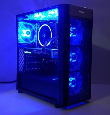 Calculator Wider Blue, Intel Core i5 4590 3.3GHz, 16GB DDR3, SSD 128GB, HDD 1TB, Video ATI RX 580 Nitro 8GB DDR5