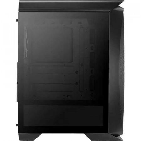 Carcasa Gaming Aerocool Aero One Frost Black, MiddleTower, 3x USB 3.0, Panou transparent