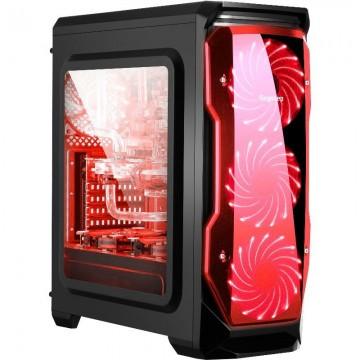 Carcasa Segotep Halo Black-Red