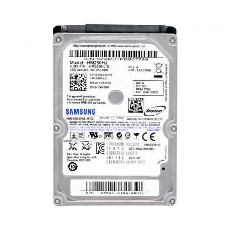 Hard Disk laptop 250GB Samsung HM250HJ, SATA II, 7200rpm, 16MB Buffer
