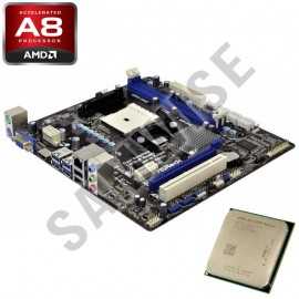 Poze KIT Placa de baza ASRock A75M + AMD A8-Series A8 3870k 3GHz, QuadCore, Video Radeon HD6550D