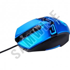 Poze Mouse Gaming Newmen N6000 Blue, Wired, USB, 1600 dpi