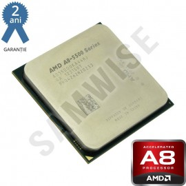 Poze Procesor AMD Trinity, Vision A8 5500 3.2GHz (Turbo 3.7GHz) Quad Core, Video Radeon HD 7560D