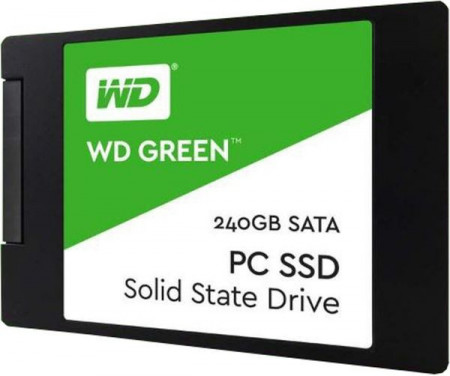 SSD 240GB Western Digital Green, SATA III 6GB/s
