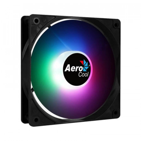 Ventilator Aerocool Frost 12 PWM RGB, 120mm, Iluminare LED RGB