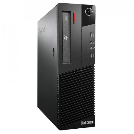 Calculator Lenovo M82 SFF, Intel Core i3 3220T 2.8GHz, 4GB DDR3, 250GB, DVD-RW