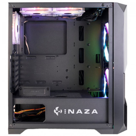 Carcasa Gaming Inaza Prism, USB 3.0, 5x Vent. 120 mm LED RGB, Panou transparent