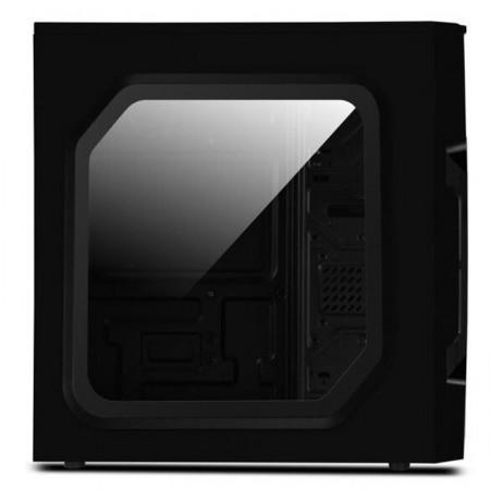 Carcasa Gaming Segotep AND 5 Black, Middle Tower, USB 3.0