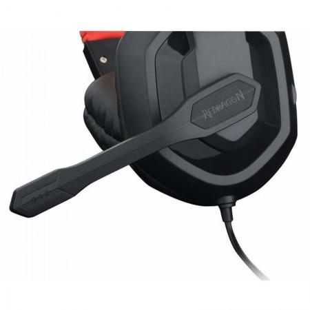 Casti Gaming Redragon Ares, Stereo, 2x Jack 3.5mm, TRS, 103db, Difuzoare 40mm