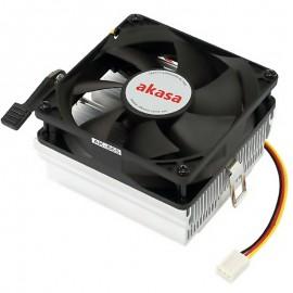COOLER AMD AKASA 80MM 3PIN, AM2/AM3