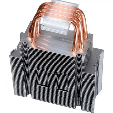 Cooler CPU ID-Cooling SE-214, Ventilator 120mm, 4x Heatpipe-uri Cupru