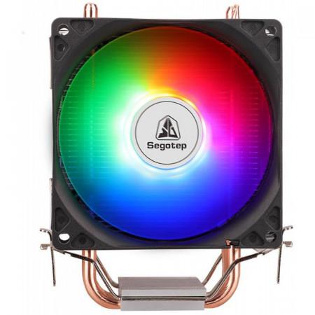 Cooler CPU Segotep Frozen Tower T3, Iluminare RGB