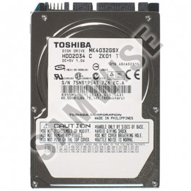 Poze Hard disk Laptop, Notebook, Toshiba 40GB, SATA, Buffer 8MB, MK4032GSX