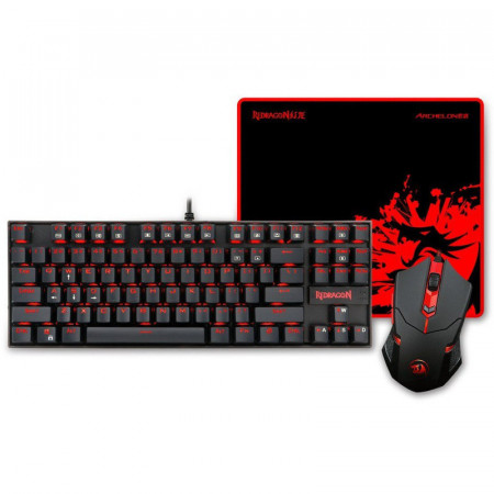Kit Gaming Redragon Essentials 3-in-1 v2