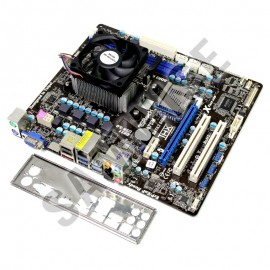 Poze KIT Placa de baza ASRock A75M DDR3 + AMD A8 3850 2.9GHz Quad Core, Video Radeon HD 6550D